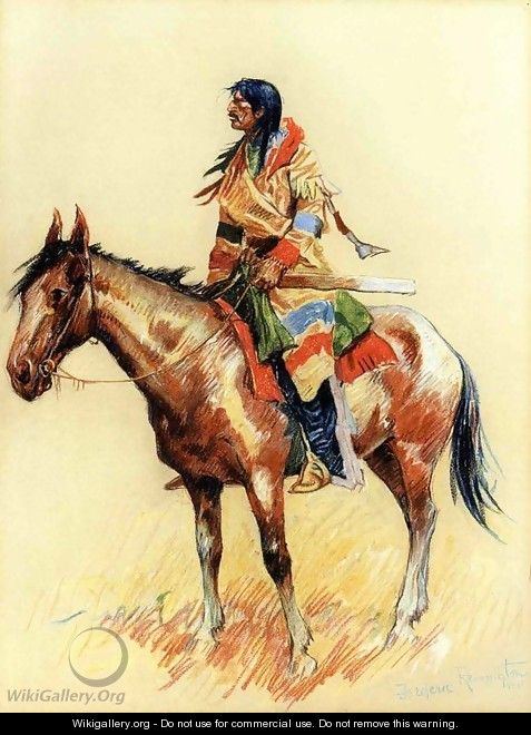 A Breed - Frederic Remington
