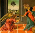 The Cestello Annunciation - Sandro Botticelli (Alessandro Filipepi)