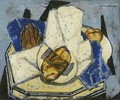 Still Life With Artichoke And Bread - Alfred Henry Maurer