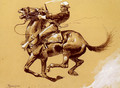 Ugly Oh The Wild Charge He Made - Frederic Remington