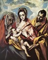 Holy Family (The Virgin of the Good Milk) 1594-1604 - El Greco (Domenikos Theotokopoulos)