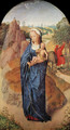 Virgin and Child in a Landscape - Hans Memling