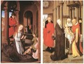 Wings of a Triptych c. 1470 - Hans Memling