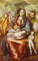 The Holy Family 1594-1604 - El Greco (Domenikos Theotokopoulos)