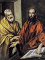 Saints Peter and Paul 1605-08 - El Greco (Domenikos Theotokopoulos)