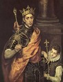 St. Louis- King of France 1586-94 - El Greco (Domenikos Theotokopoulos)
