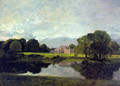 Malvern Hall in Warwickshire 1809 - John Constable